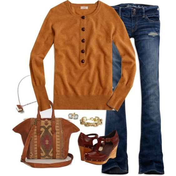 """camel"" by shopwithm on Polyvore"