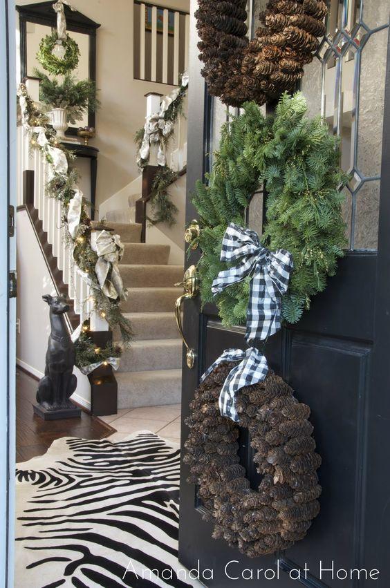 Amanda Carol at Home: Christmas front door