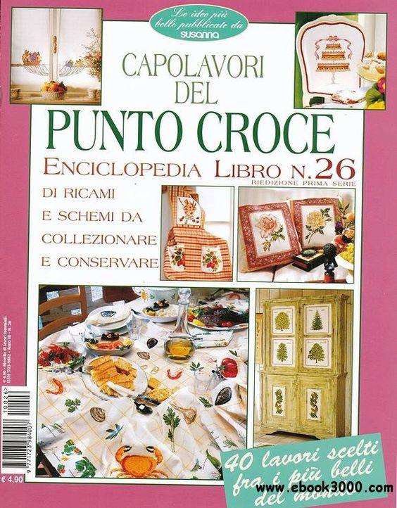 Susanna Capolavori Del Punto Croce Enciclopedia No26 2011