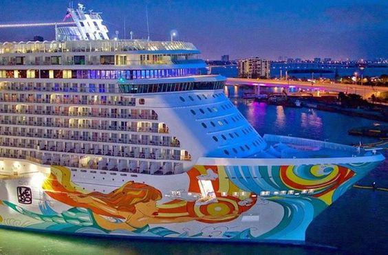 She is one BIG Ship!! #CruiseMiss
