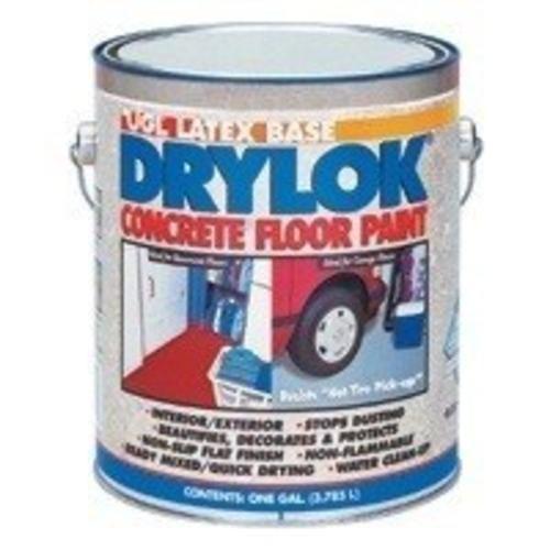 Drylok 22913 Concrete Floor Paint 1 Gal Terra Cotta Painted Concrete Floors Painted Floors Concrete Floors