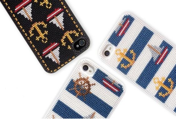 A step-by-step, easy-to-follow cross-stitch pattern to customize your iPhone? Yeah, your store-bought case just got SERVED.  DIY IPHONE CASE, $18, CONNECTDESIGN.CO.KR