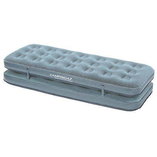 Inflatable Air Mattress Campingaz Airbed Quickbed Camping Mat Blow Up Bed for Indoor and Outdoor Use Flocked Air Bed