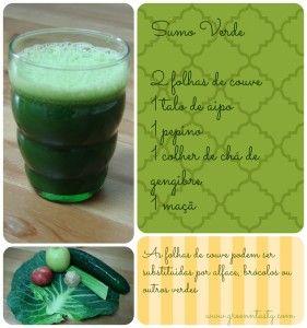receita sumo verde em www.greenntasty.com