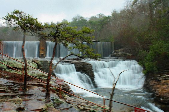 UPPER DESOTO FALLS, Alabama