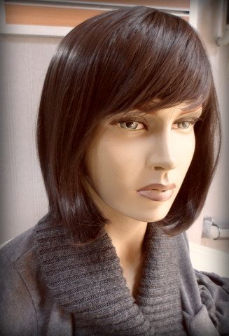 Heat resistant synthetic wig by maryhair on Etsy, $65.00