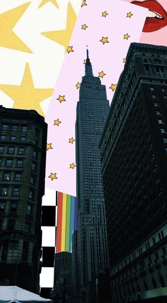 Manhattan New York Digital Photo Wallpaper