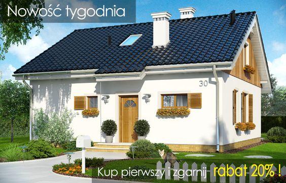 Nowość MG Projekt - Projekt domu Zosia 3  #zosia3 #projekt #dom #mgprojekt