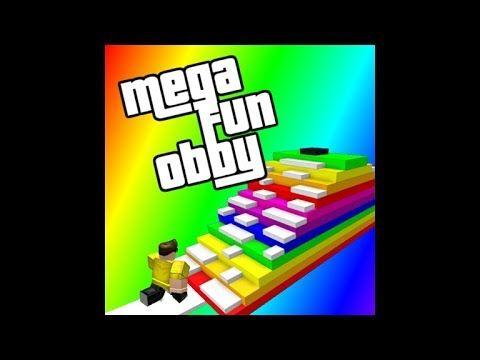 Roblox Mega Fun Obby Roblox First Video Fun