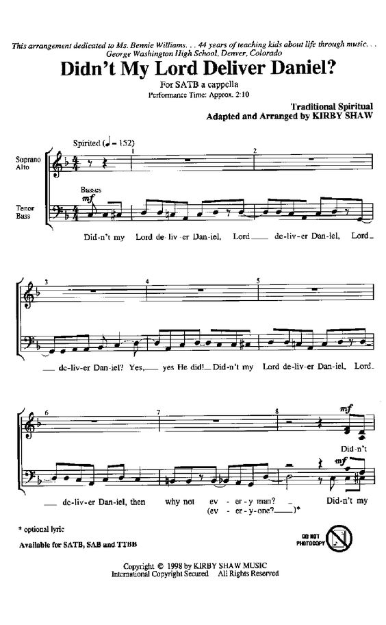 All Music Chords somewhere in time sheet music : Sing a New Song (SATB ) by Heinrich Schutz/a | J.W. Pepper Sheet ...