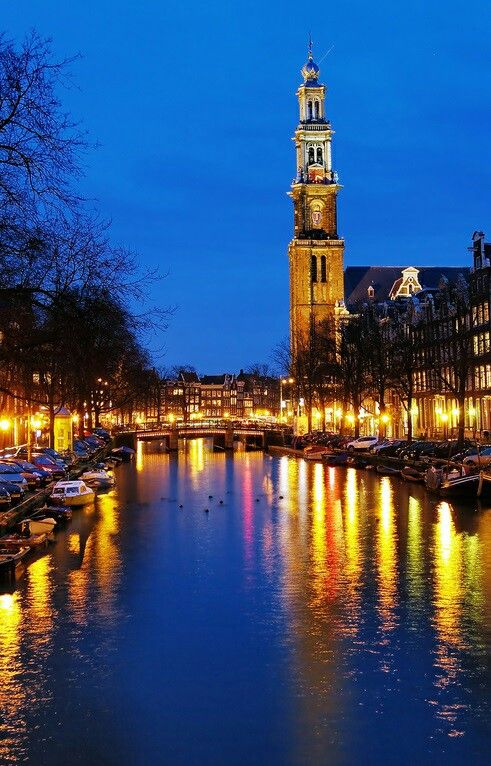 Perfect night in Amsterdã