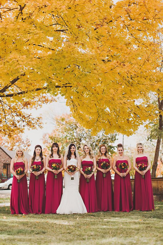 Beautiful Fall Wedding by Sara Byrne PhotographyComments