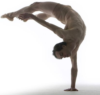 Chris Hanson - James Sewell Ballet  Performing at the Reif Center, April 2013