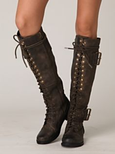 tall combat boots | shoes | Pinterest | Home, Riding boots and ...