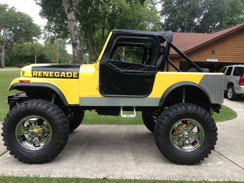 1979 Jeep Ccj7 V8 2nd Owner Recent Frame Off With 15 In Lift Us 14 000 00 Image 1 Jeep Jeep Cj Jeep Cj7