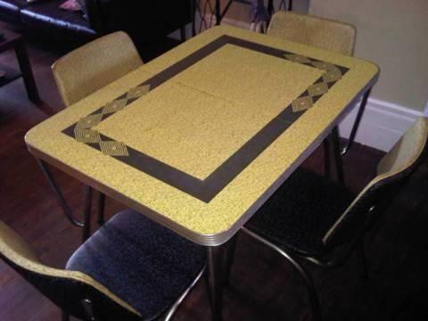 1950 chrome tables retro 1950s chrome kitchen table for 400 for