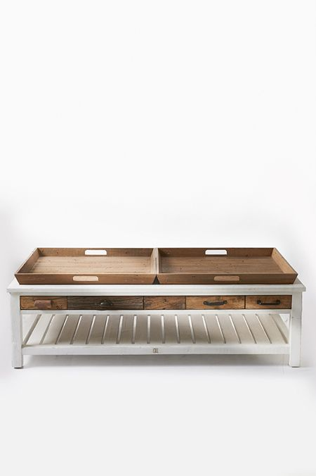 €1299,- Hampton Island Coffeetable 140x70 #living #interior #rivieramaison: