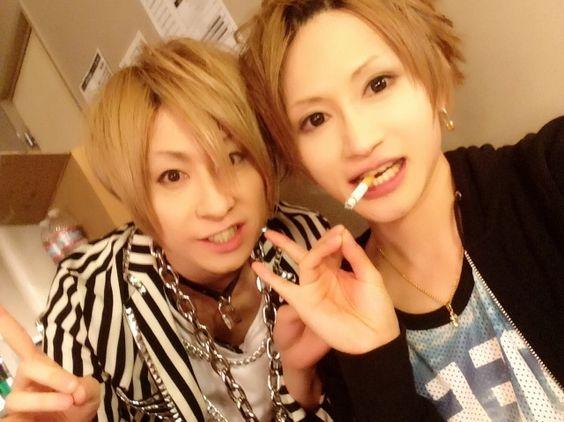 Teruki and Miku. An Cafe
