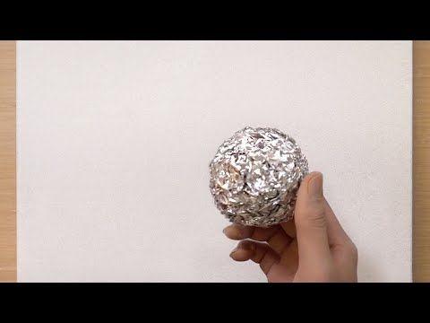 3 Tamaños De Técnica De Pintura De Aluminio Pintar Un Bosque Rojo Arte Creativo Fácil Youtub En 2021 Arte Creativo Arte Con Papel De Aluminio Tecnicas De Pintura