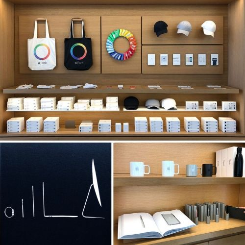 Apple Store Offline Exclusives At Apple Park And One Infinite Loop Stores In Cupertino Both Have A Different Selecti Apple Store Apple Park Free Cloud Storage