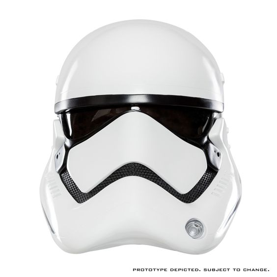 STAR WARS™: THE FORCE AWAKENS First Order Stormtrooper Helmet Accessory   ANOVOS Productions LLC