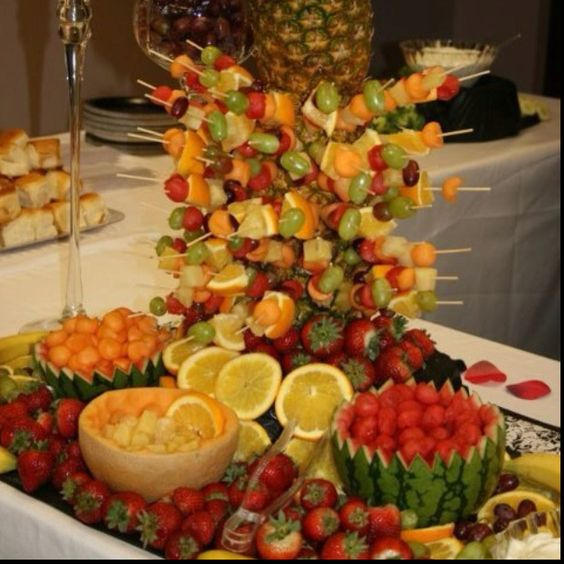 Fruit display for a recent wedding we catered