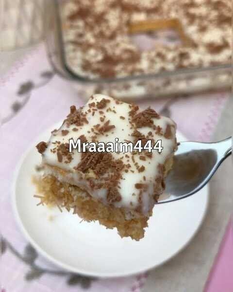 Chef Aseel On Instagram حلا الشعيريه وجوز الهند بالكراميل من حساب الجميله Mraaaim444 الطبقه الاولى كوبين شعيري Dessert Recipes Desserts Food