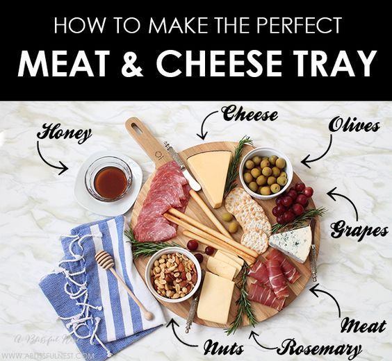 simple guide on how to make the perfect meat & cheese tray for your ...