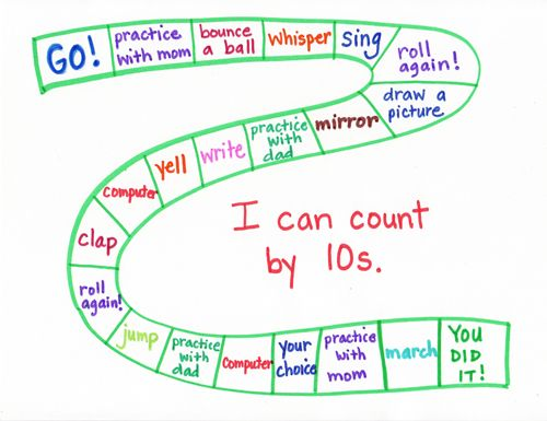 Goal-Setting Charts for Young Kids