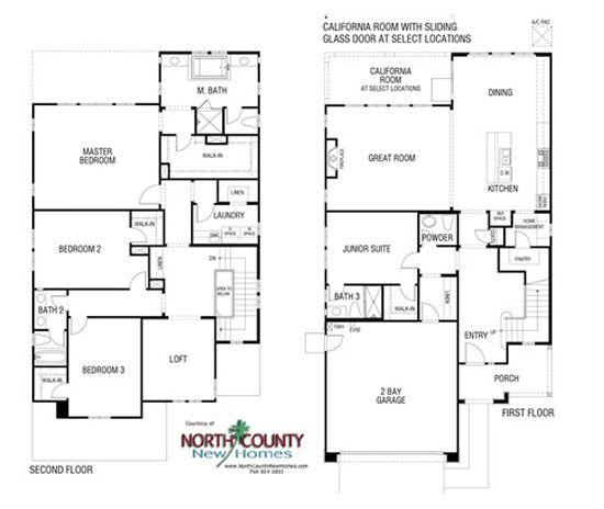 Saratoga Estates Horse Creek Ridge Fallbrook New Homes New Homes Dr Horton Homes House Floor Plans