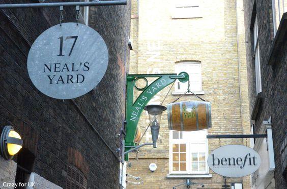 Neal's Yard, London  www.crazyforuk.com