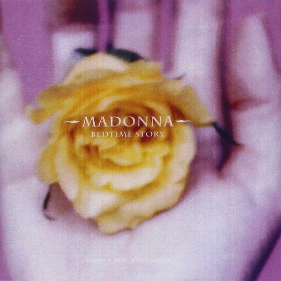 Madonna – Bedtime Story (single cover art)