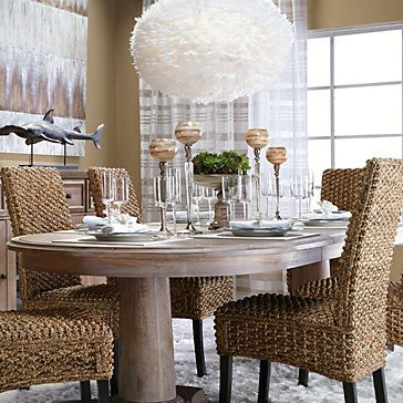 Hyacinth chair dining chairs dining room furniture for Z gallerie dining room chairs