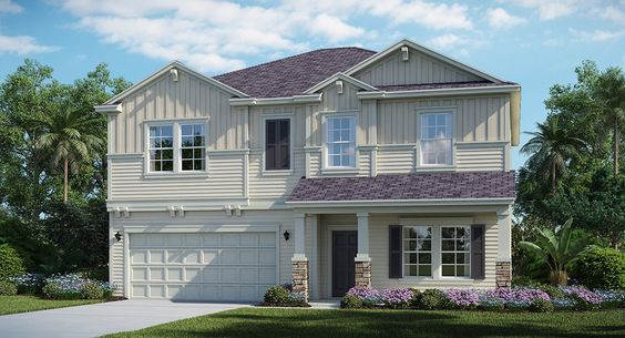 The Brio HB model home in Mill Creek at Kendall Town #Lennar #DreamHome
