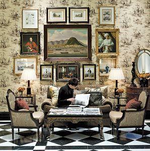 {   Esta es la entrada al THAMES FOREST, el salón de té de The Savoy Hotel. Una maravilla.   www.unblogyunparaguasenLondres.com   }