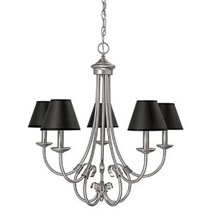 dining Capital Lighting C3225MN427 Hometown Mid Sized Chandelier Chandelier - Matte Nickel