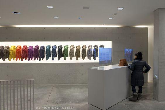 Duvetica Milano Showroom - Tadao Ando
