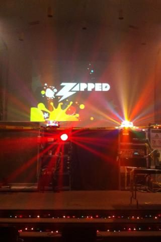 Our Zapped VBS stage