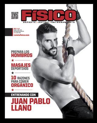 Juan Pablo Llanos portada revista fisico mas en www.revistafisico.com