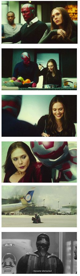 """I became distracted..."" Captain America: Civil War"