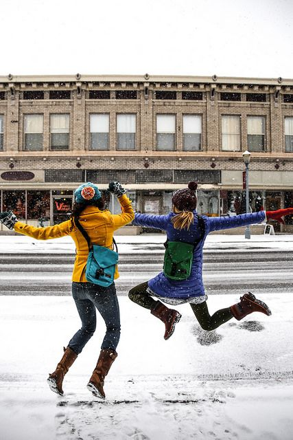 perform the snow dance (by The Noisy Plume on Flickr)
