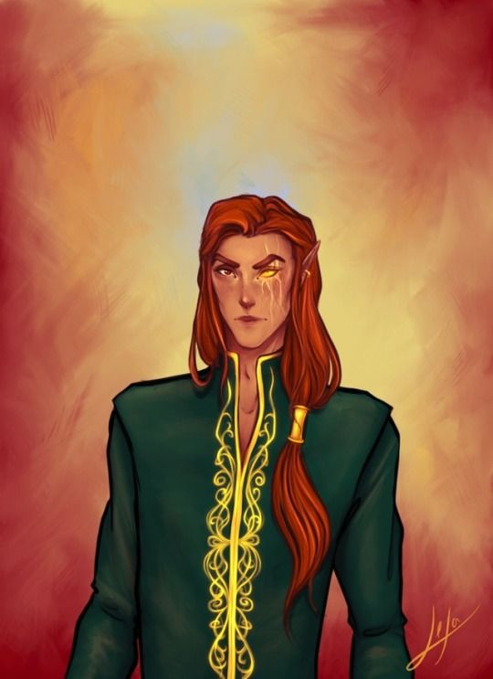 Lucien From A Court Of Thorns And Roses Throne Of Mist And