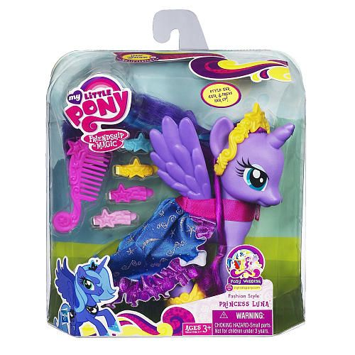 My Little Pony Fashion Style Pony Princess Luna Hasbro Toys R Us My Little Pony