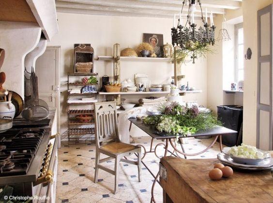 Pinterest le catalogue d 39 id es - Deco cuisine maison de campagne ...