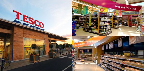 Tesco supermarket design by CampbellRigg agency