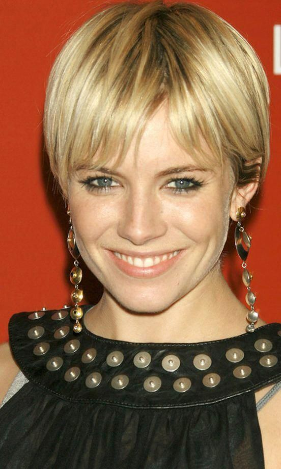 Celebrity Hairstyle Trend Cropped Hair Lookingat Crop Hair Sienna Miller Short Hair Short Hair Styles