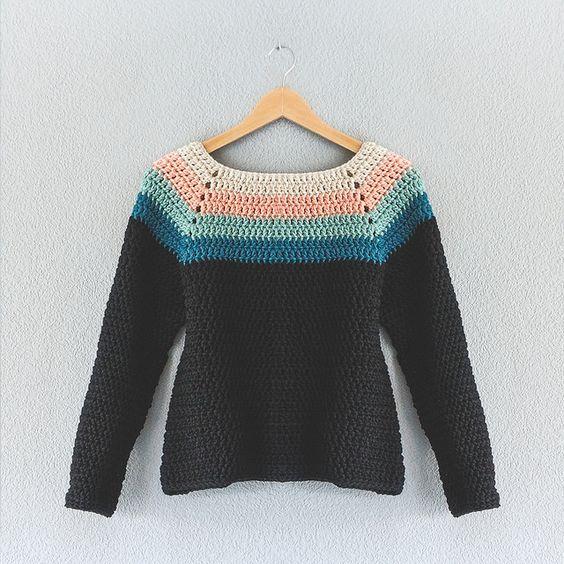 Crochet Patterns Jumper : Ravelry: Lehandmades Primer Reto finde y principio de semana: el ...