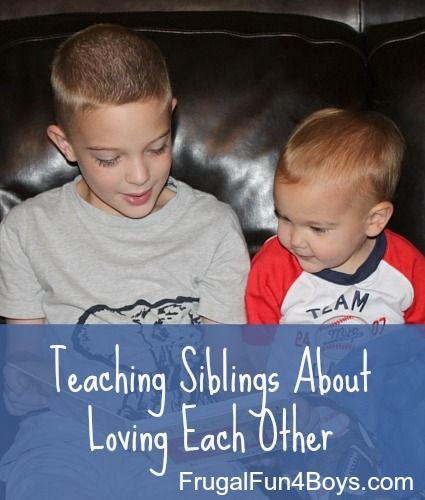 Love Each Other Religious: Teaching Siblings About Loving Each Other