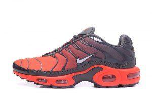 Nike Air Max Plus Tn Tuned 1 Crimson Grey Red 655020 606 Mens ...
