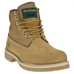 SALE - Mens Dunham 7767 Work Boots Tan Rubber - Was $114.99 - SAVE